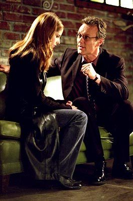 Sarah Michelle Gellar and Anthony Stewart Head of Buffy The Vampire Slayer 