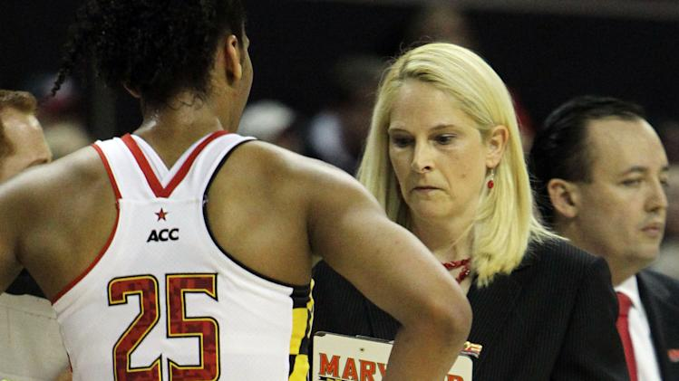 NCAA Womens Basketball: NCAA Tournament-Maryland vs Quinnipiac