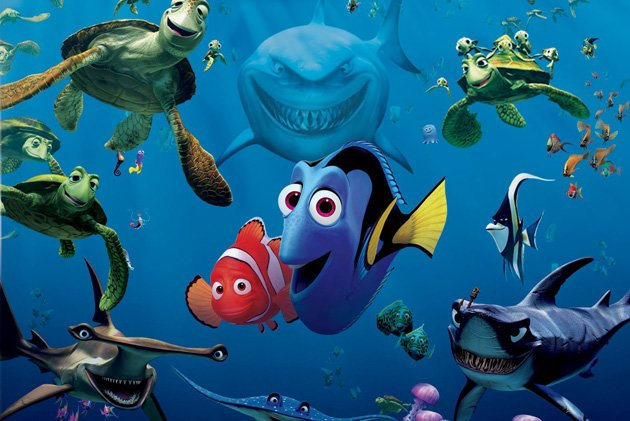 Finding Nemo Blu-ray Box Art