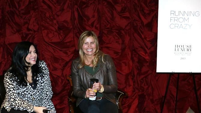 "IMAGE DISTRIBUTED FOR RAND LUXURY -(l-r) Barbara Kopple, Mariel Hemingway from the film ""Running from Crazy"" during a question and answer session at Resorts West House of Luxury, on Monday, Jan 21. 2013 in Park City, Utah. (Photo by Benjamin Cohen/Invision for Rand Luxury/AP Images)"