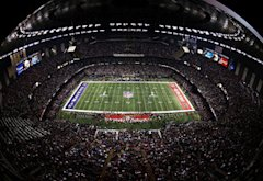 Mercedes-Benz Superdome during Super Bowl XLVII | Photo Credits: Rob Carr/Getty Images