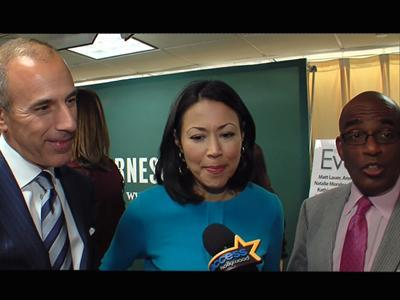 Matt Lauer, Ann Curry And Al Roker Celebrate 'Today's' 60th Anniversary