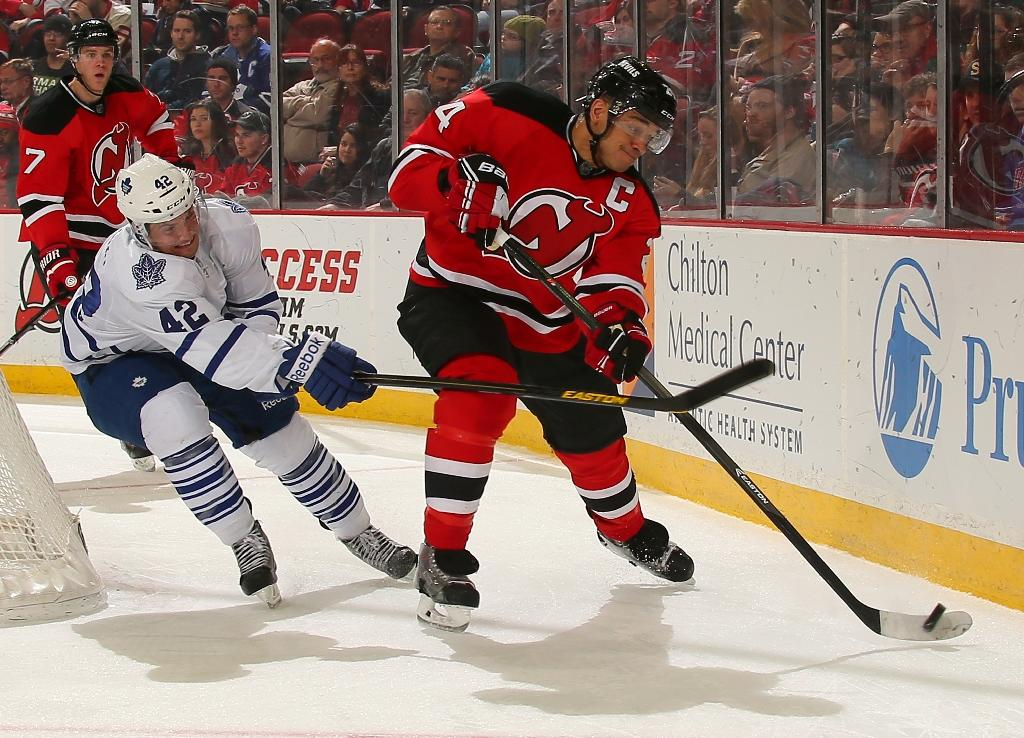 NHL's New Jersey Devils defenceman Salvador retires
