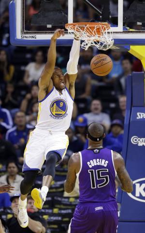 Warriors beat Kings 94-81 in preseason home opener