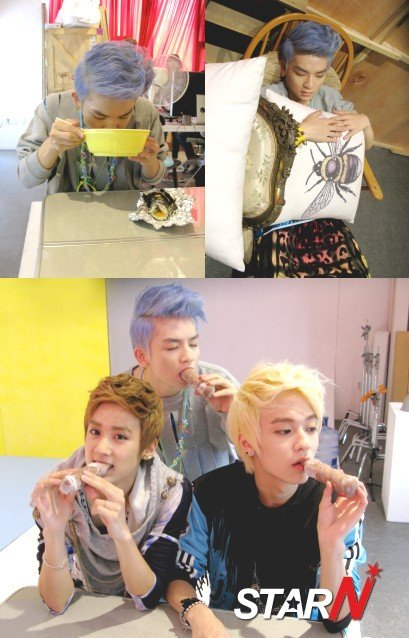 How TEEN TOP members overcome summer heat