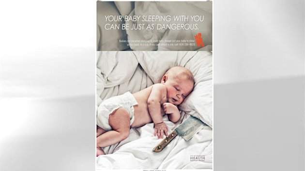 Milwaukee Runs Provocative Ads to Wake Parents Up to Dangers of Co-Sleeping (ABC News)