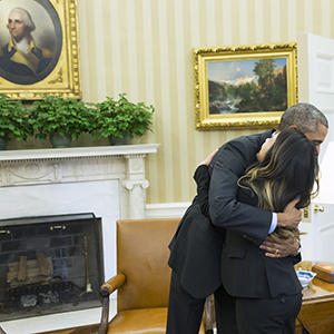 Nurse Who Overcame Ebola Visits White House