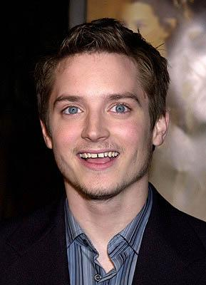 Elijah Wood at the Hollywood premiere of New Line's The Lord of The Rings: The Fellowship of The Ring