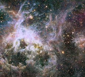 Hubble Telescope Captures Spectacular Views of Spidery Tarantula Nebula (Photos)