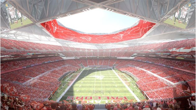 New Falcons Stadium Ideas Dont Just Push The Envelope