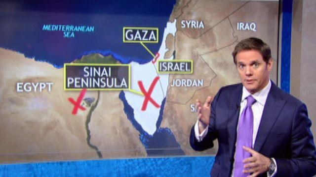 Mapping out the Israel-Gaza conflict