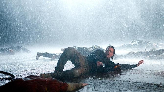"""This publicity image released by Paramount Pictures shows Brad Pitt in a scene from """"World War Z."""" (AP Photo/Paramount Pictures, Jaap Buitendijk, File)"""