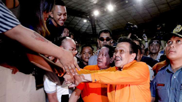 Ex-Philippine president elected mayor of Manila