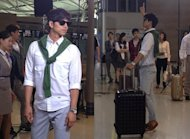 Gong Yoo's hot airport fashion
