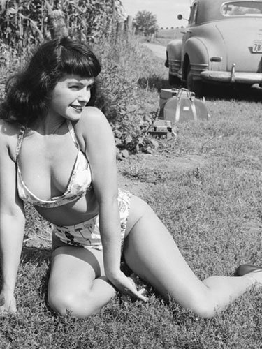 Bettie Page - 1956