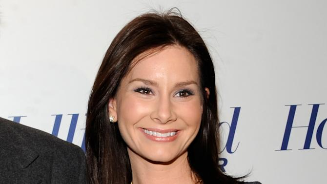 "FILE - This April 11, 2012 file photo originally released by The Hollywood Reporter shows Rebecca Jarvis at The Hollywood Reporter 35 Most Powerful People in Media event in New York.  ABC says CBS News anchor Jarvis will join the network later this month as its chief business and economics correspondent. During her three years with CBS, Jarvis reported on business and economics affairs. She also co-anchored ""CBS This Saturday."" (AP Photo/The Hollywood Reporter, Evan Agostini)"