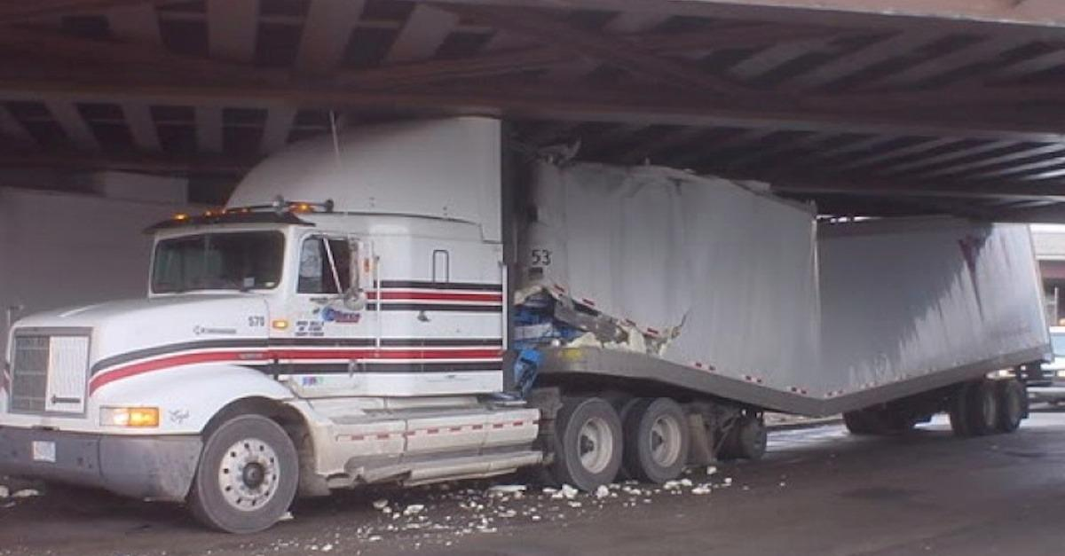 Bridge Meets Truck: 23 Not So Glamorous Tales
