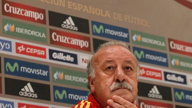 Vicente del Bosque (Reuters)