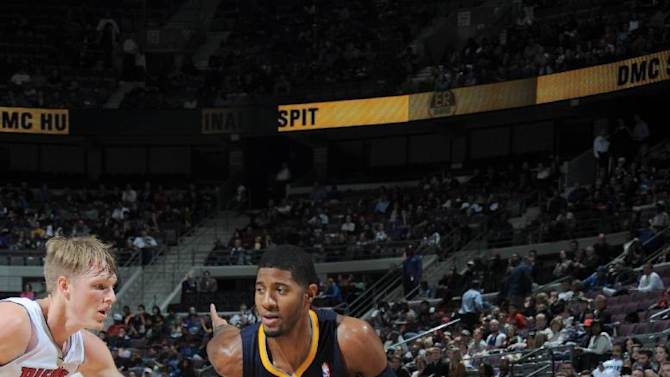 Pacers still unbeaten after beating Pistons 99-91