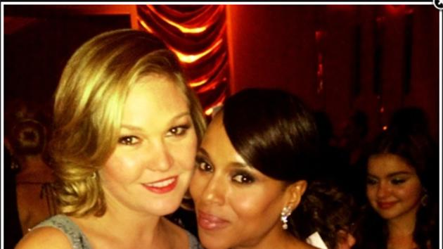 Julia Stiles and Kerry Washington