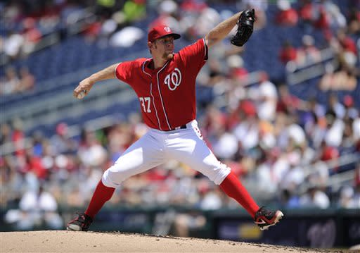 Zimmerman hits slam, Nats hand SD 9th loss in row