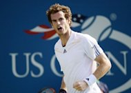 Britain's Andy Murray plays against the Czech Republic's Tomas Berdych during the 2012 US Open men's semi-finals in New York