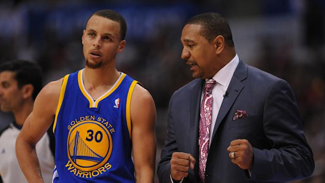Curry speaks out on Warriors' coaching change