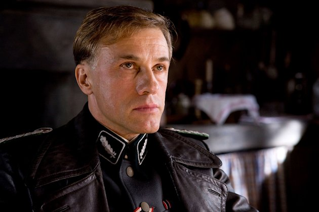 Inglourious Basterds Production Photos 2009 Weinstein Company Christoph Waltz
