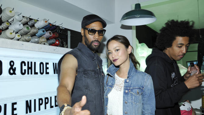 RZA and Jamie Chung at Levi's Haus Party, on Tuesday, April, 15th, 2013 in Los Angeles. (Photo by Eric Charbonneau/Invision for Levi's/AP Images)