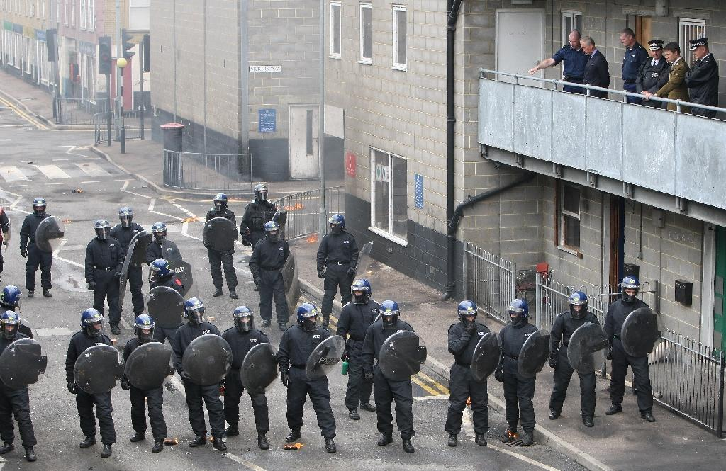 Riot squad unable to shield England Rugby