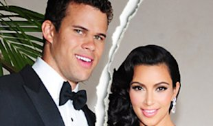 Kris Humphries and Kim Kardashian. Photo: Us Weekly
