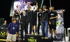 Loyola's boys track team after winning the Nike Track Nationals