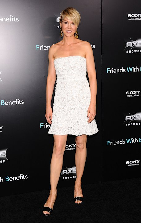 Friends with Benefits 2011 NY Premiere Jenna Elfman