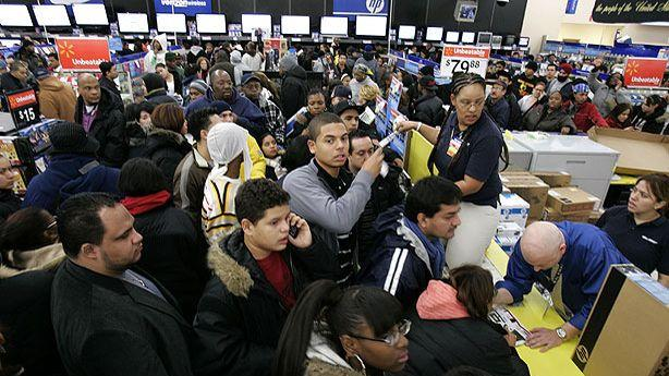 Wal-Mart's Black Friday Moves Deeper Into Thanksgiving