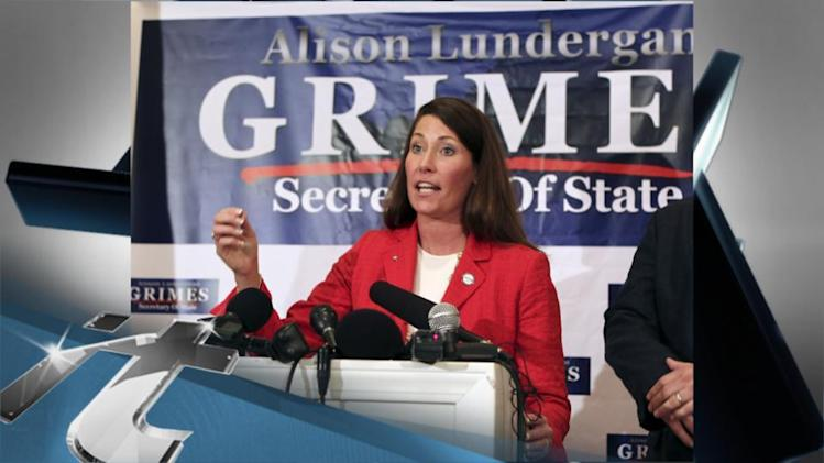 Politics Breaking News: Ashley Judd Backs Grimes for Senate