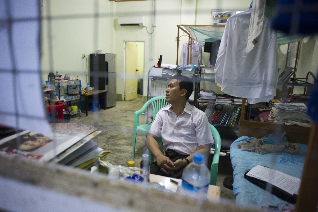 Hardship and no politics in Myanmar's 'jail cell' MP housing