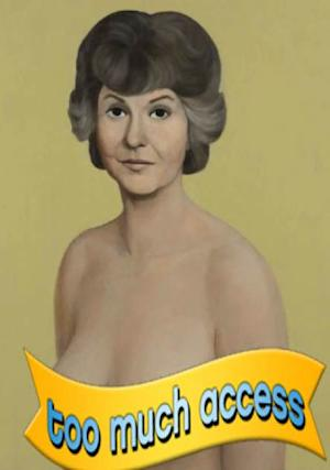 John Currin's painting of Bea Arthur which sold for 1.95 million at an auction at Christie's on May 15, 2013 -- Christie's Image Ltd.