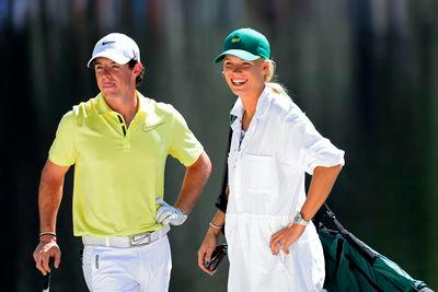 Rory McIlroy serenaded by 'Sweet Caroline' at rugby match