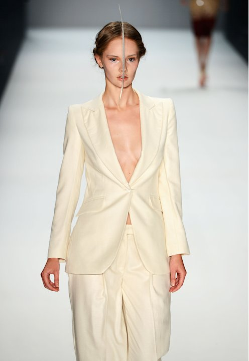 Dawid Tomaszewski: Runway - Mercedes-Benz Fashion Week Spring/Summer 2013