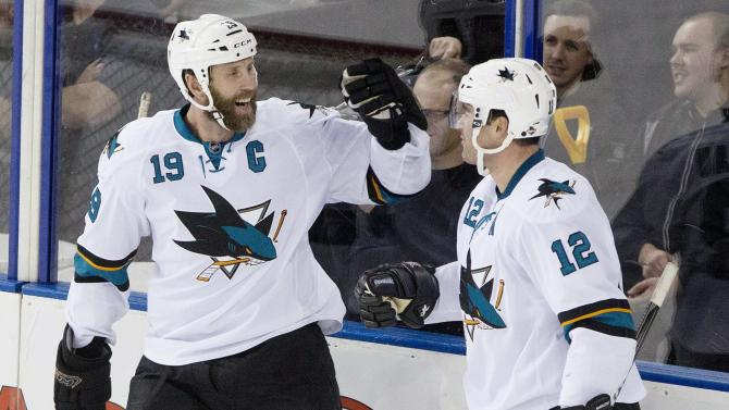 Marleau, Thornton lift Sharks over slumping Oilers