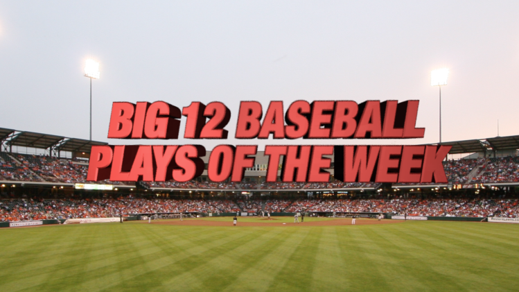 Big 12 Top Baseball Plays of the Week