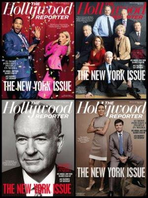 THR Celebrates New York Issue With Four Covers