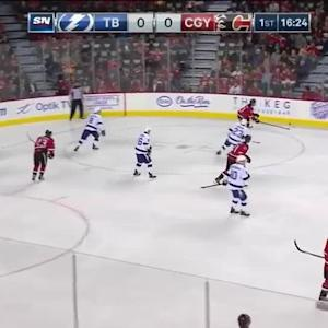 Tampa Bay Lightning at Calgary Flames - 10/21/2014