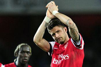 Giroud backs Arsenal to be title contenders next season