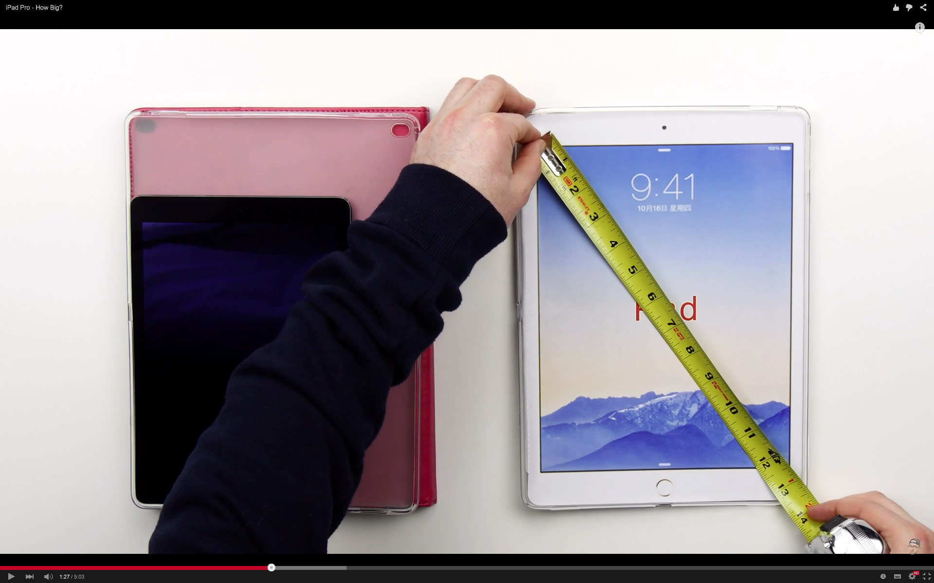 The next iPad could have a 12.9-inch display