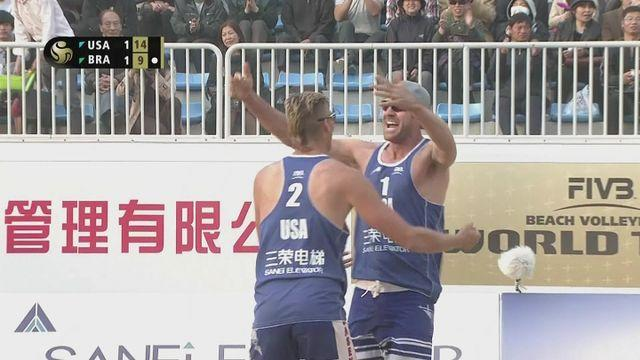 USA pairing win men's final at FIVB Grand Slam in Shanghai