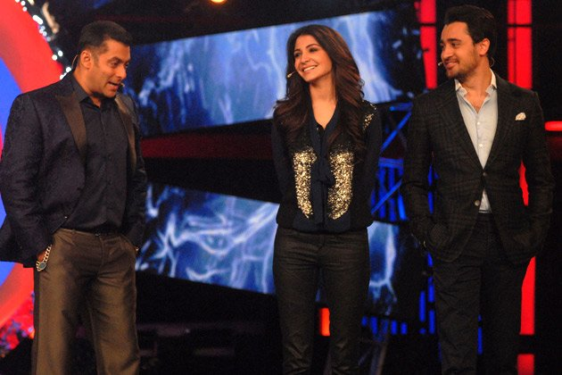 Imran and Anushka on &amp;#39;Bigg Boss&amp;#39;