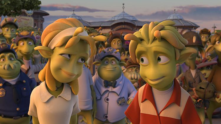 Planet 51 Production Photos 2009 Sony Pictures