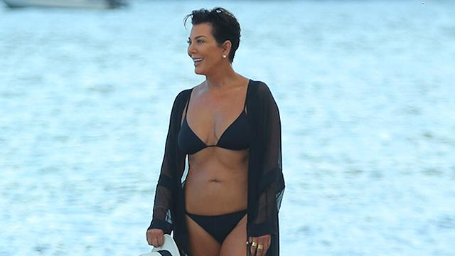 Kris Jenner, 59, Shows Off Bikini Bod, Shoots Down Tummy Tuck Rumors