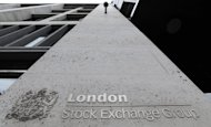 European stock markets added to gains made before the weekend, owing to upbeat US jobs data and amid mixed signs of progress in the eurozone debt crisis, traders said